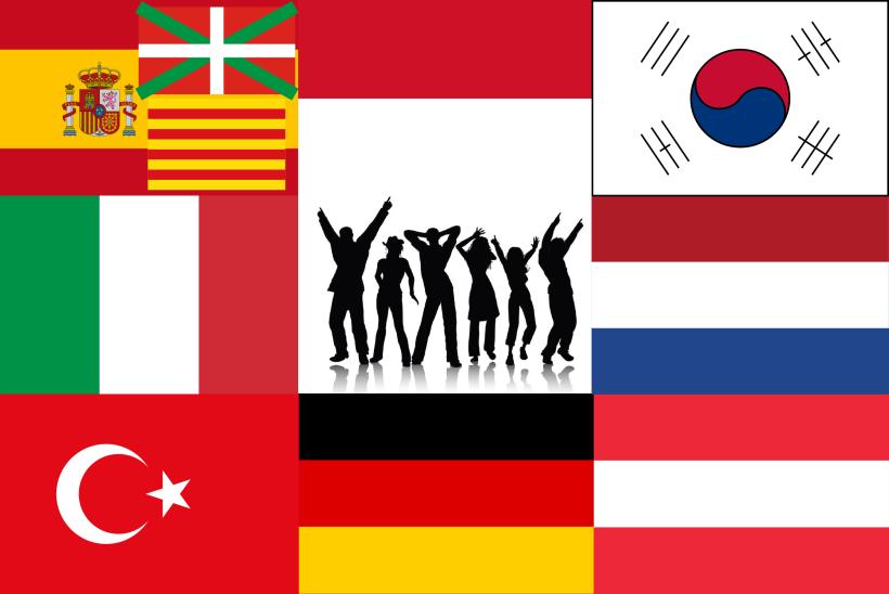Internationales Team