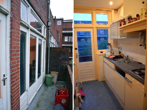 Küche und Balkon Montage